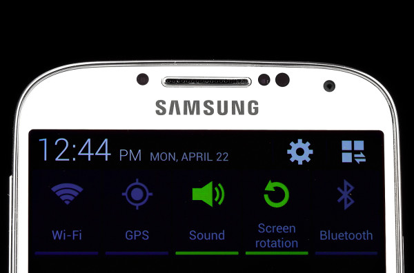 Galaxy S4 Notification Shade, image from Digital Trends